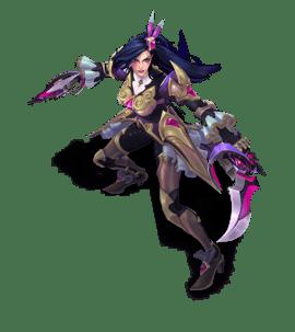 Best Katarina Chroma Tanzanite with Purple Colors