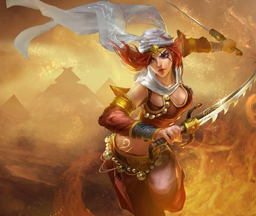 Sandstorm is Not One of the Best Katarina Skins you Can Buy with Ugly Appearance