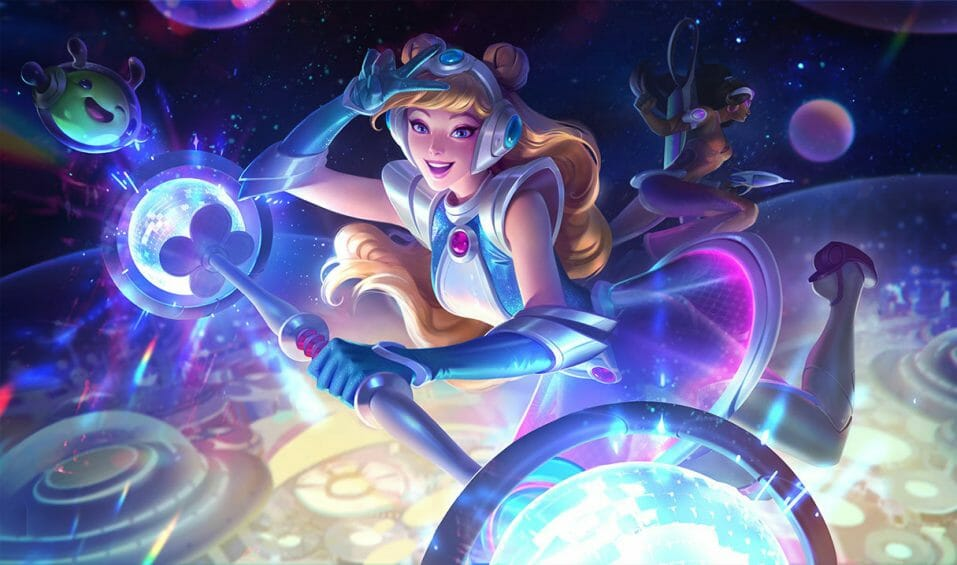 Space Groove LoL Lux Skin Is Fun and Vibrant