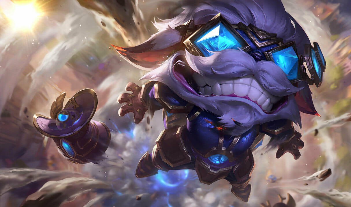 Ziggs with Gems for Eyes in Pro League play