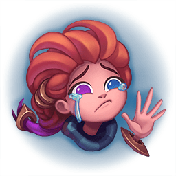 Zoe Leaving League of Legends and Waving Goodbye after She Uninstalls
