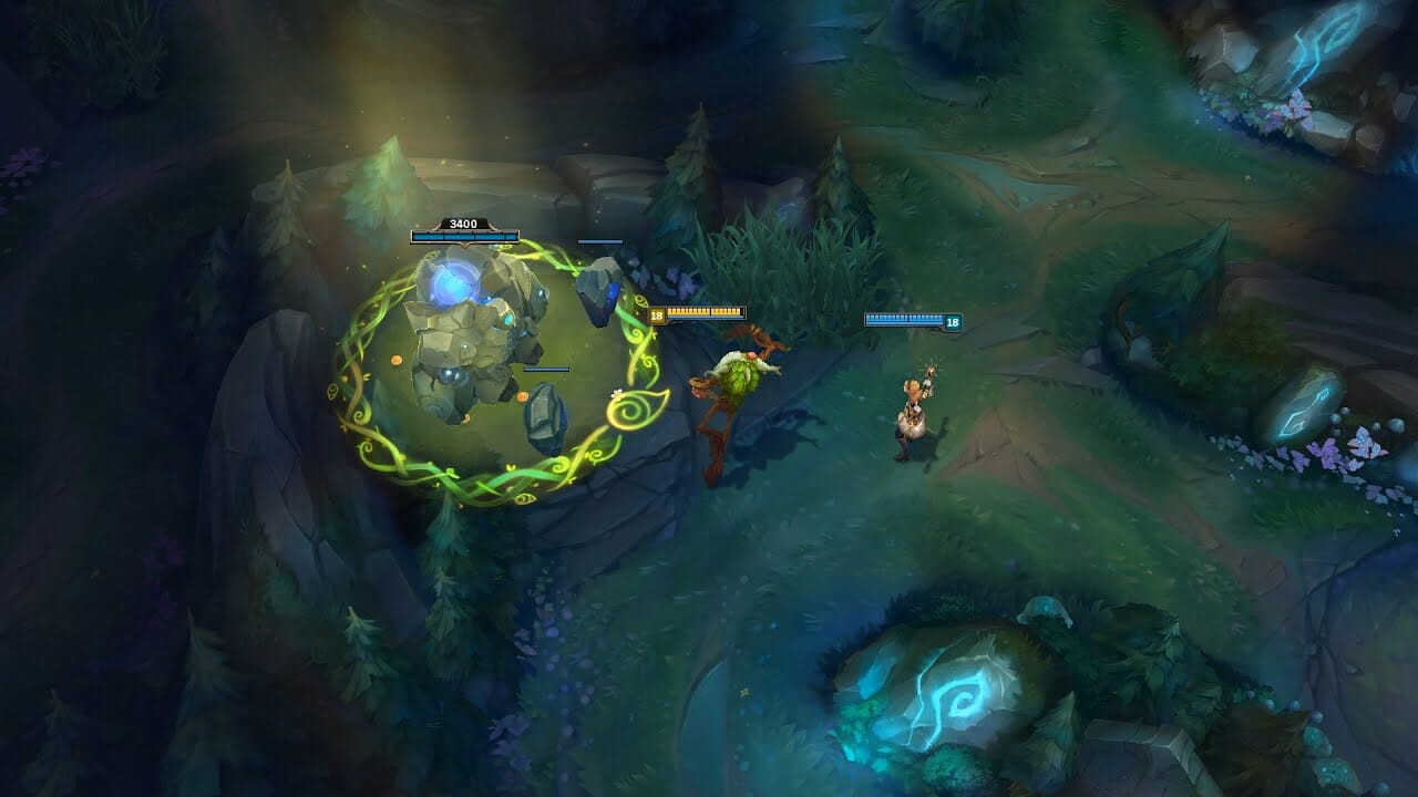 Ivern charming jungle camp while on complex route through jungle