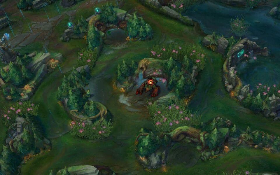 Jungle Path in League of Legends