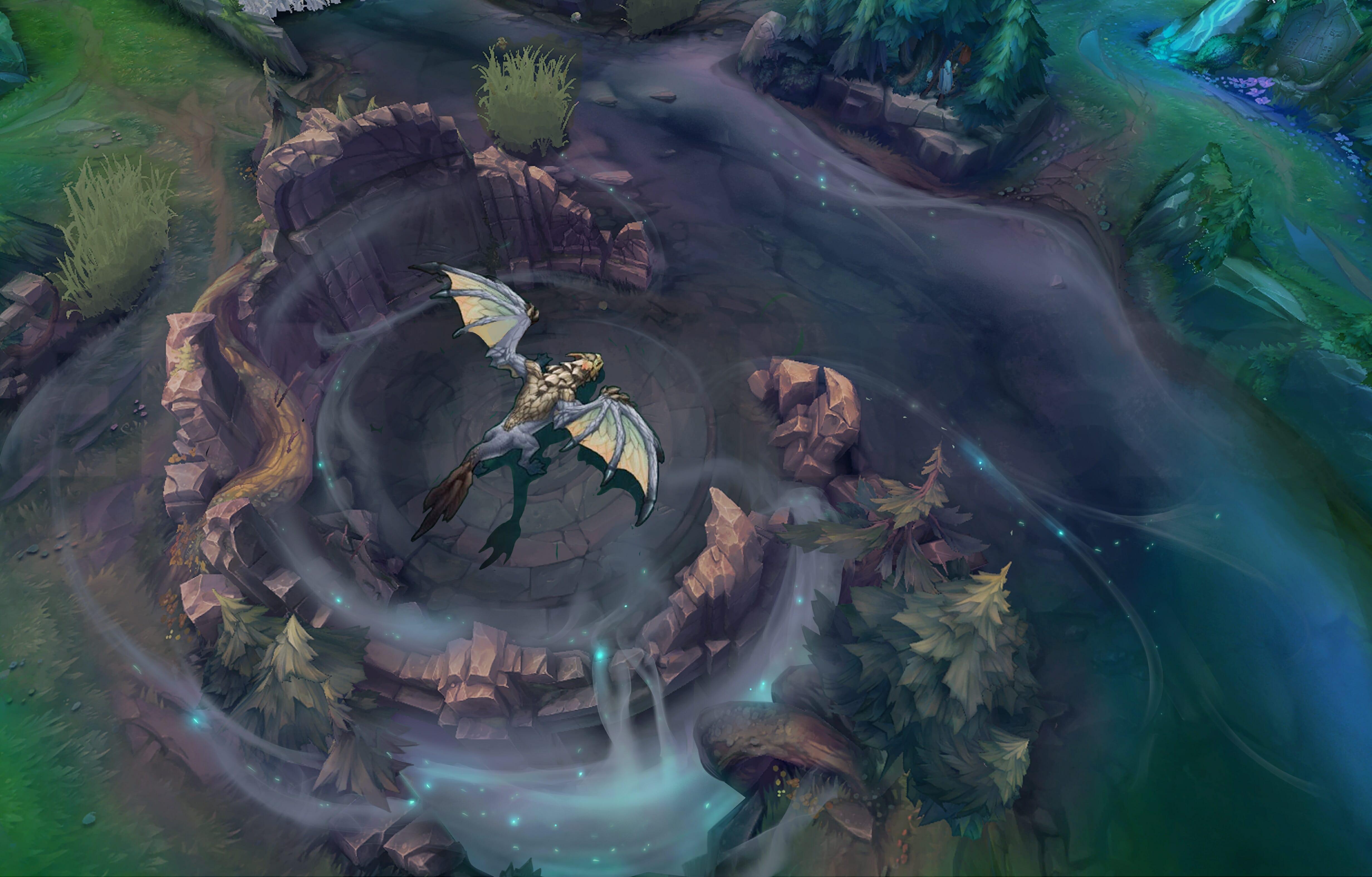 Air elemental dragon spawning