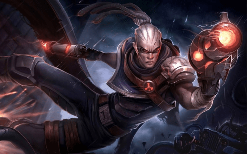 Lucian last Hitting to Get Better at League of Legends