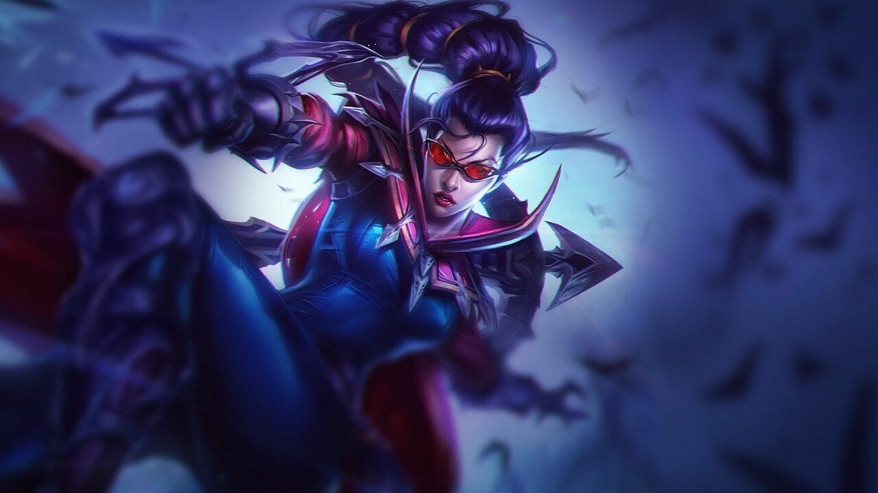 Vayne On-Hit Damage Dealing with Passive While Jumping Through the Error