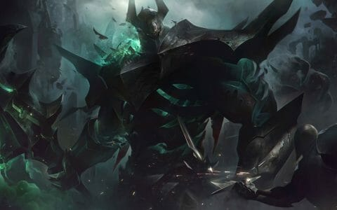 In Black Armor with a Glowing Green Mace, Mordekaiser Rework Revealed