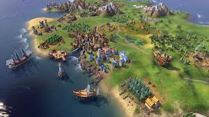 Civilization Gameplay Showing How Many Different Player Choices Impacts the Game's Storyline