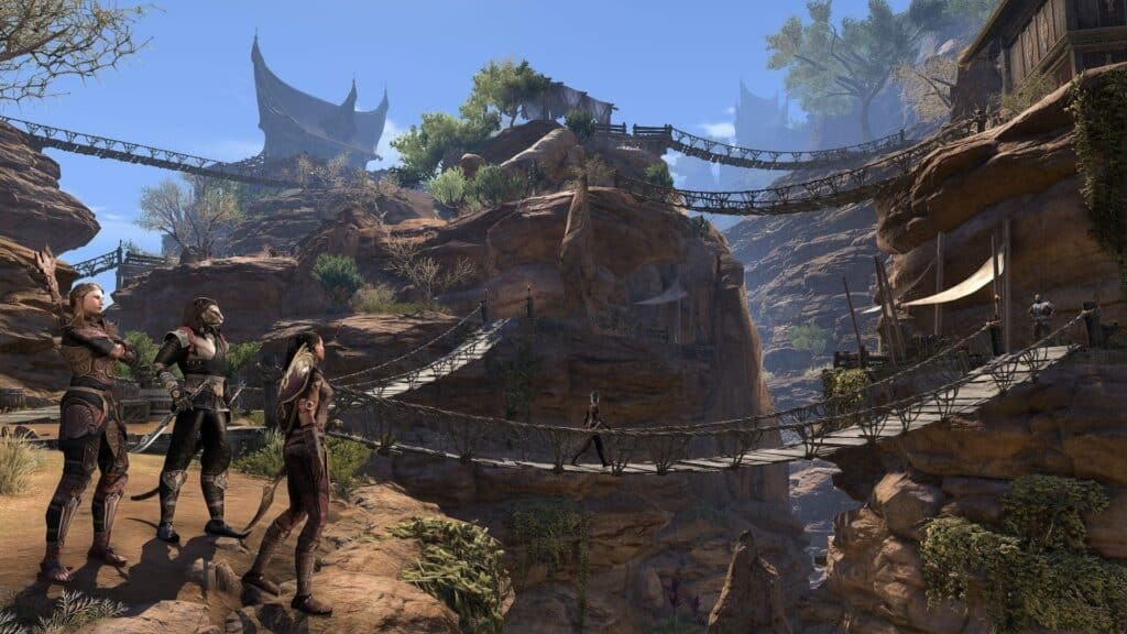 Choosing different paths is important to a good storyline like in Elder Scrolls with many bridges