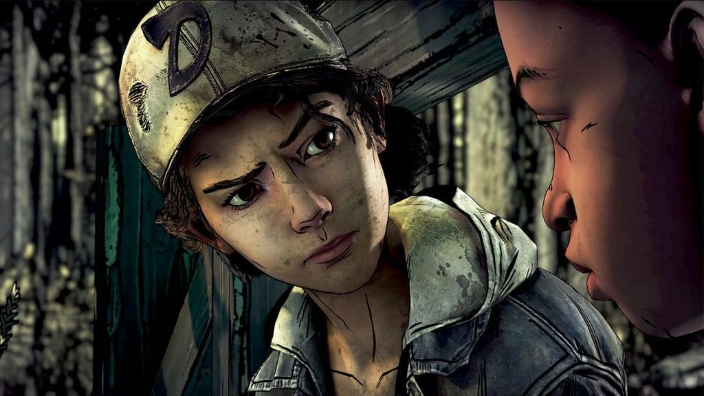Power of Story in Video Games Walking Dead Shows Player Making a Choice During Zombie Apocalypse