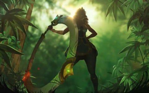 Qiyana Champion Revealed in Jungle
