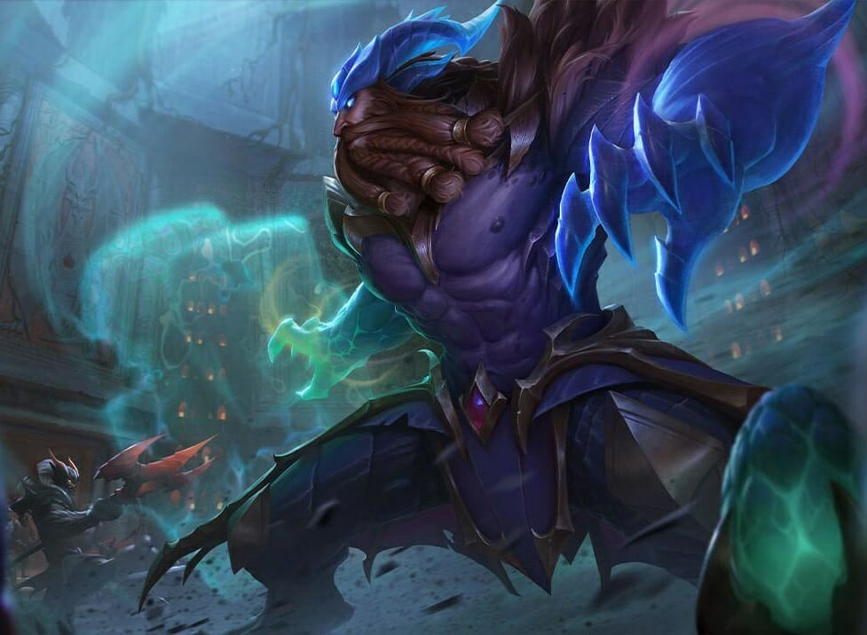 Udyr champion in TFT Synergizes Well with Shadow Items