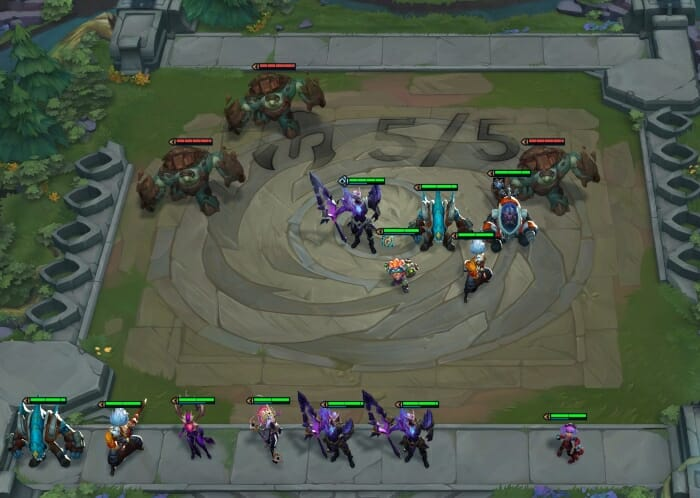 Learn How to Combat Monsters in Teamfight Tactics