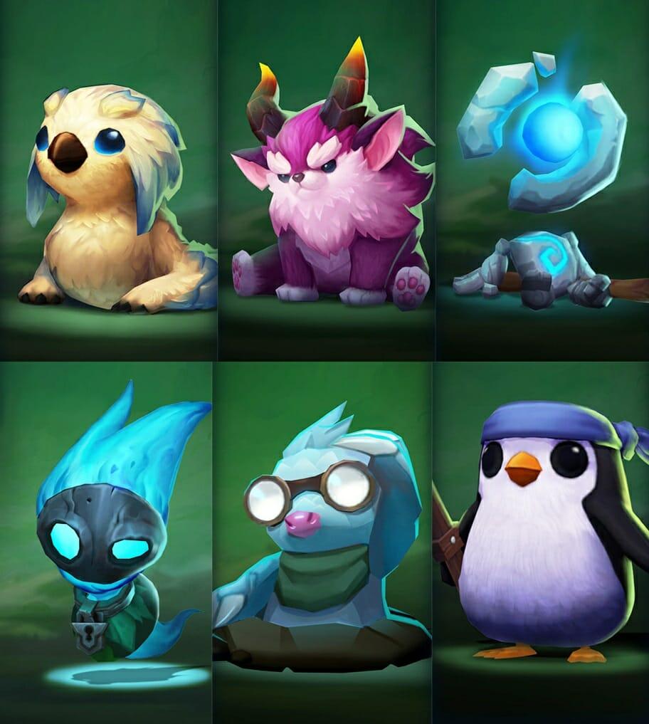 Little Legends Avatars for TFT Beginners Guide