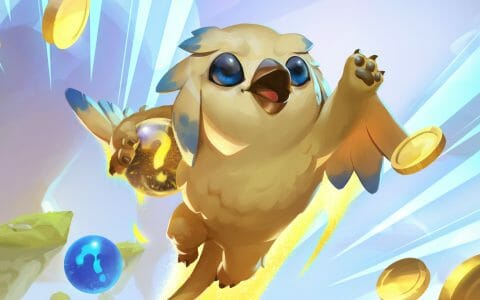 Yellow Bird Happy with His Earned TFT Interest and Gold Income in Teamfight Tactics