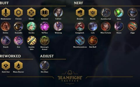TFT Patch Notes 10.7