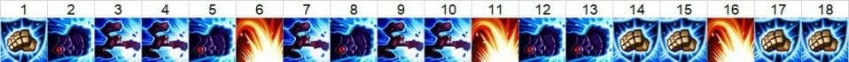 Vi Jungle Skill Order Showing What Vi Skills to Pick when she is in the jungle and in what order