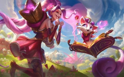 League of Legends Champion Showing Joy at Learning How to Play Yuumi with Yuumi Guide