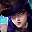 Caitlyn Champion is an Average Tier Bottom Champ in League of Legends