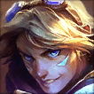 Ezreal Champion is an Average Tier Bottom Champ in League of Legends