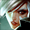 Riven Champion is an Average Tier Top Champ in League of Legends