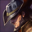 Twisted Fate Champion is an Average Tier Middle Champ in League of Legends