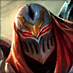Zed Champion is an Average Tier Middle Champ in League of Legends